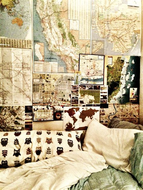 we in the bed like ooh decor ideas maps dream room travel house bedroom
