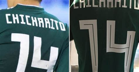 mexico debuts bad adidas 2018 world cup font footy headlines