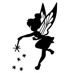 Fairy Stickers For Walls tinker bell die cut vinyl decal pv1337