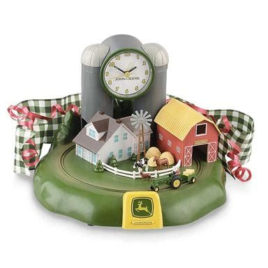 deere 174 animated alarm clock 68689 gift baskets at sportsman s guide