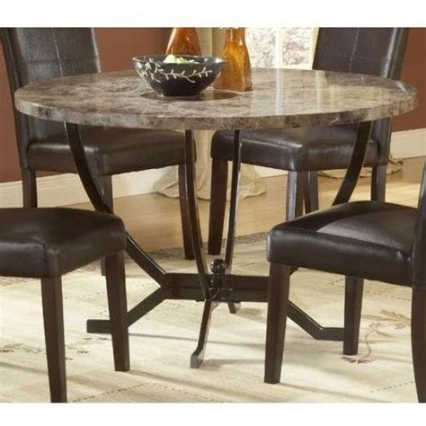 faux marble kitchen table reviews hillsdale monaco faux marble top dining