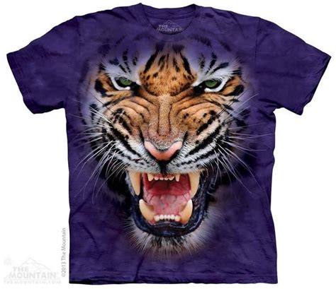 Tshirt White Tiger the mountain growling big tiger animal roar rage fierce t shirt s 5xl ebay