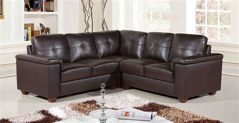 Corner Brown Leather Sofa Decosee Grey Sectional Sofas