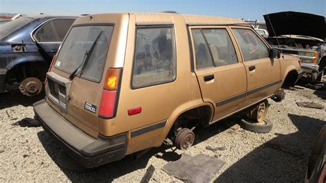 toyota car yard junkyard find 1986 toyota tercel station wagon the