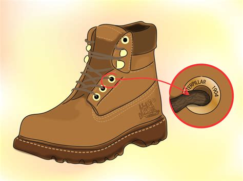 Caterpillar Bots how to identify genuine caterpillar boots 7 steps with