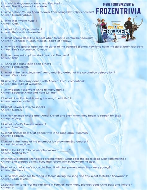 film quiz questions 2014 free frozen trivia questions and frozen coloring sheet