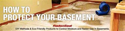 make your basement diy repair guide radonseal