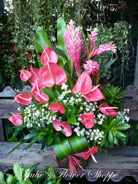 Flower Shop Philippines - tropical flower arrangement julie s flower shoppe