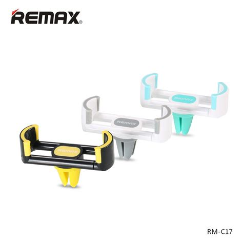 Remax Air Vent Smartphone Holder Type Rm C05 remax rm c17 car mount stand phone gps portable holder 360