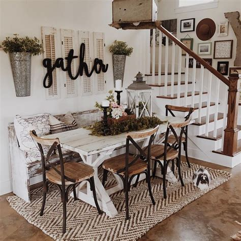 accessories for dining room table best 25 small farmhouse table ideas on pinterest
