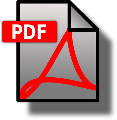 pdf in with pictures clipart file icon pdf