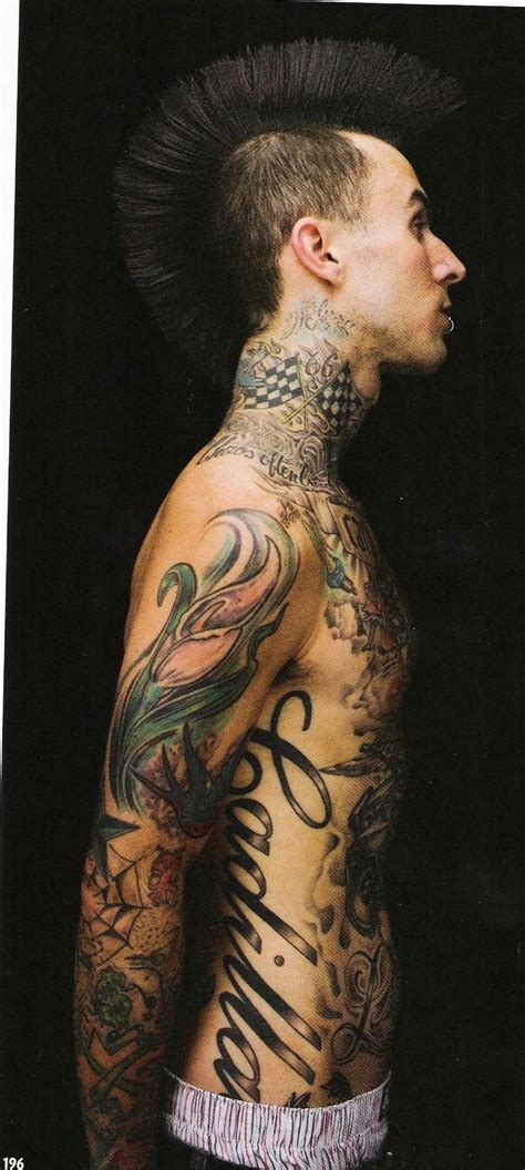 travis barker tattoos 437 best images about vegan vegetarian on