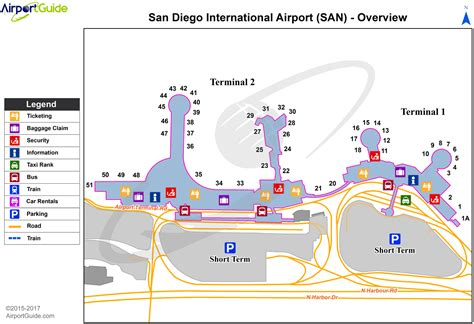 san diego airport map san diego san diego international san airport terminal maps travelwidget