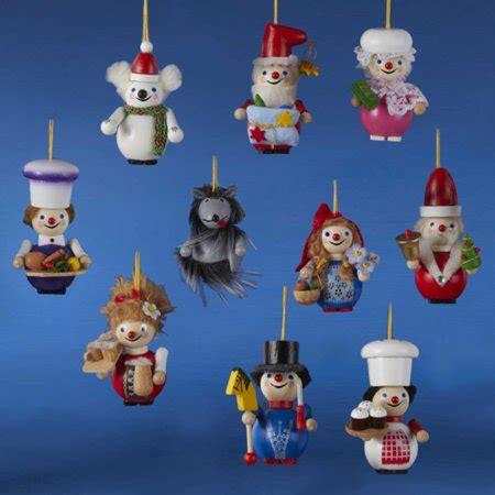 steinback ornament christmas heaven set of 10 authentic steinbach miniature nutcracker ornaments es1062 walmart