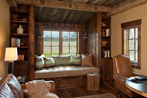 wood interior homes 25 ingenious ways to bring reclaimed wood into your home office