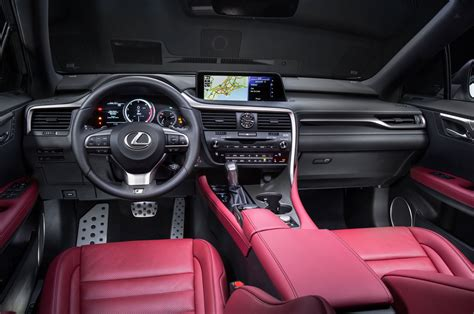white lexus red interior 2016 lexus rx first drive review motor trend