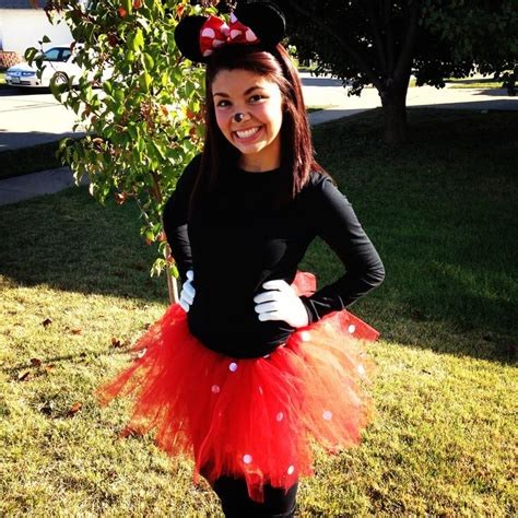 Handmade Minnie Mouse Costume - minnie mouse costume mickey s