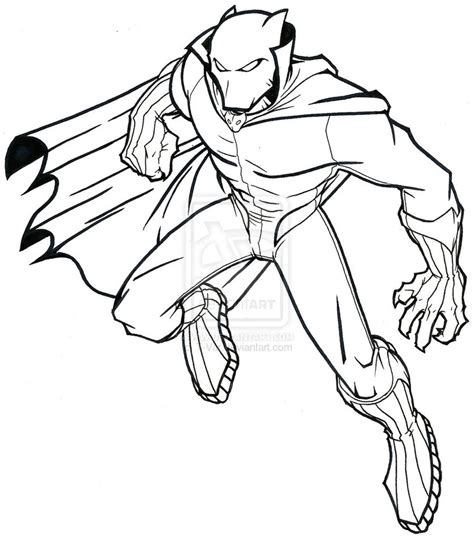 color your own black panther books black panther coloring pages 8725