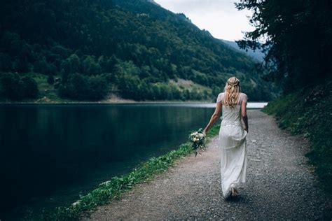 Un mariage en montagne   Morzine   Ingrid Lepan