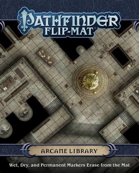Paizo Com Pathfinder Flip Mat Arcane Library