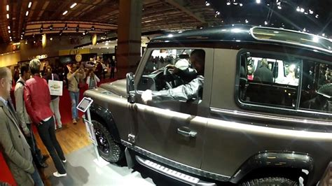 land rover skyfall skyfall land rover defender at paris motor show 2013 youtube