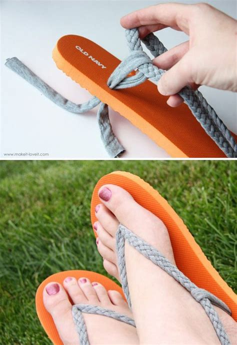diy flip flop ideas  summer