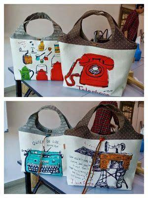 Artchala Handmade - de 1 000 imagens sobre bolsas e sacolas descoladas no