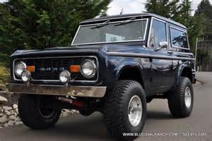 1967 ford bronco information and photos momentcar