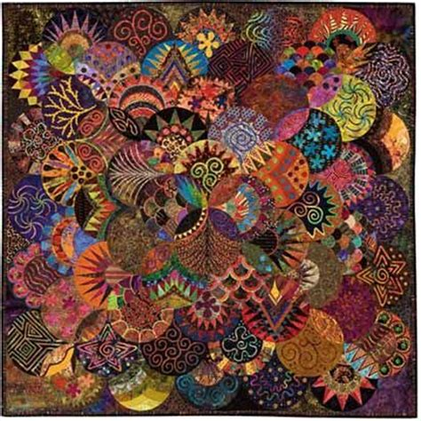 90 Best Images About Circle Quilts On Pinterest