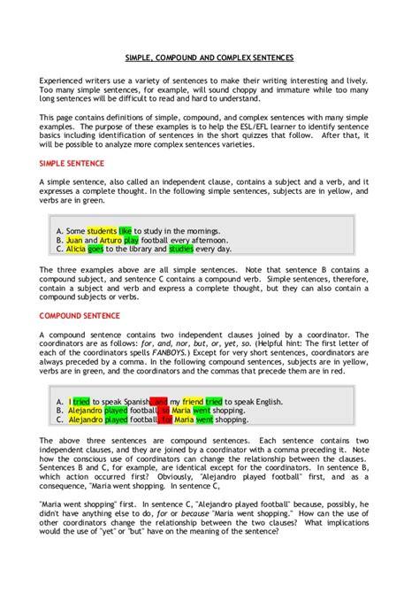 pattern in english sentences basic sentence patterns in english