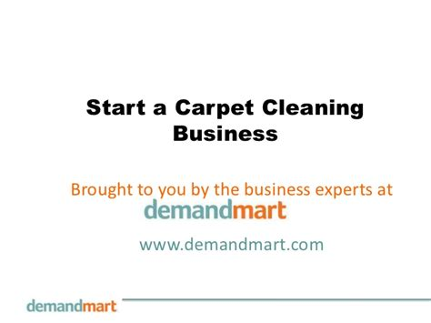 start carpet cleaning business