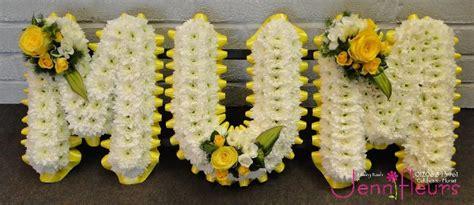 Flower Vase Stand Mum Funeral Flowers Jennifleurs Florist Colchester