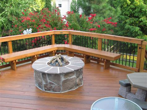 outdoor firepit archadeck  charlotte