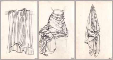 Drawing Exercises by Drawing Exercises Master Pastiches Drapery