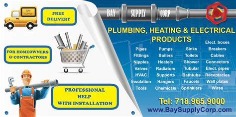 Sans Plumbing Supply Az by Bay Supply Corp New York Proview