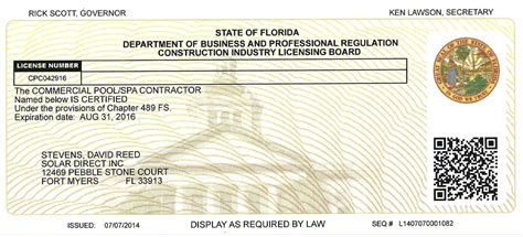 Florida Plumbing License by Florida Plumbing License Qualifier Plumbing Contractor