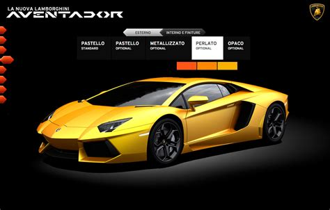 lamborghini launches dedicated aventador website