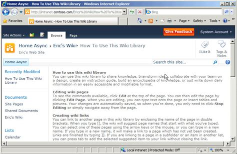 how to create a wiki template sharepoint wiki