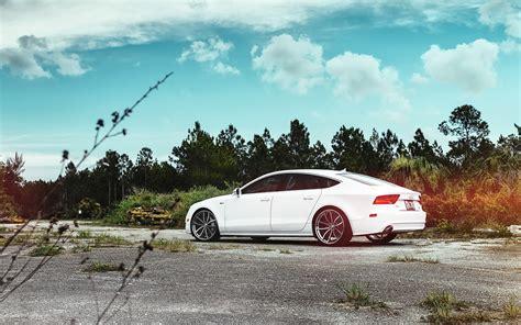 Audi A7 Weiß die 77 besten audi hintergrundbilder