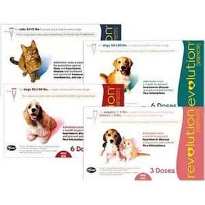 Revolution Selamectin 20 1 40lbs revolution for dogs heartworm flea med vetrxdirect