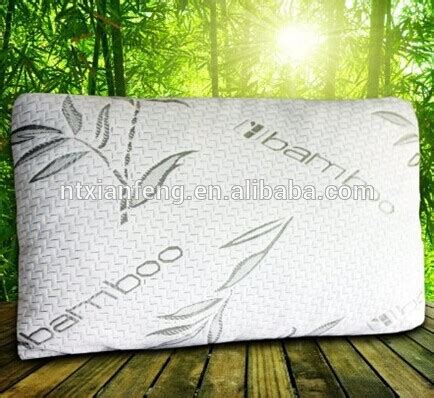 cheap breathable comfort natural bamboo pillow for adults 2015 miracle bamboo king size shredded memory foam pillow