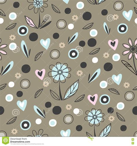seamless doodle pattern free vector abstract doodle seamless pattern texture background