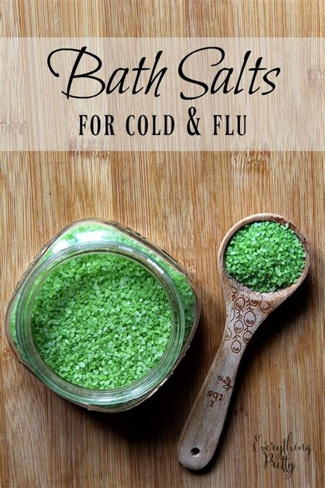 Diy Detox Bath For Colds by Bath Salts For Cold And Flu Recipe Sodas Vanilj Och Bad