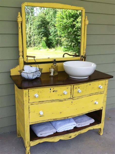 turn a dresser into a bathroom vanity search i d