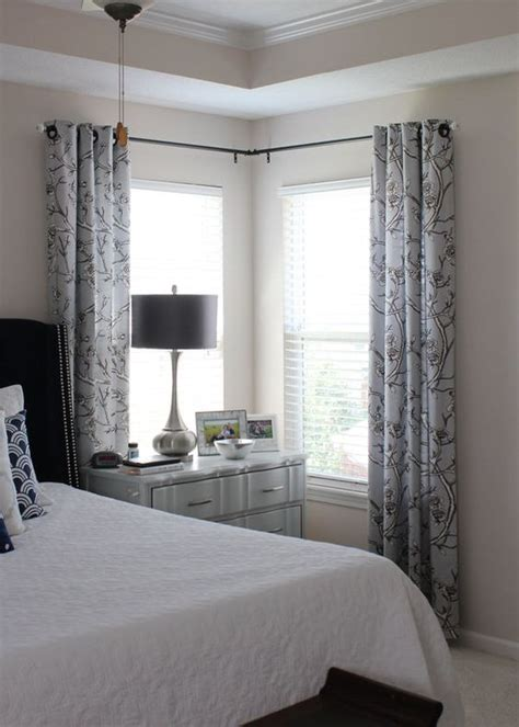 how to hang curtains around a corner pinterest the world s catalog of ideas