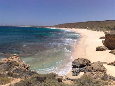 View of the beach   Picture of Red Bluff, Carnarvon