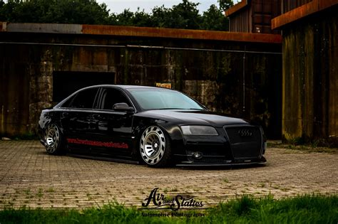 Audi A8 D3 by Audi A8 D3 Certainly Looks Different With Custom Wheels