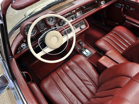 Interior Colors For 2017 1969 71 mercedes benz 280se 3 5 cabriolet w111 280