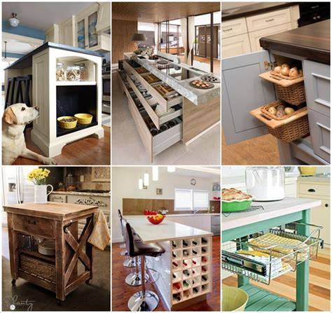 Clever Kitchen Ideas 15 Clever Kitchen Island Hacks To Make It More Functional