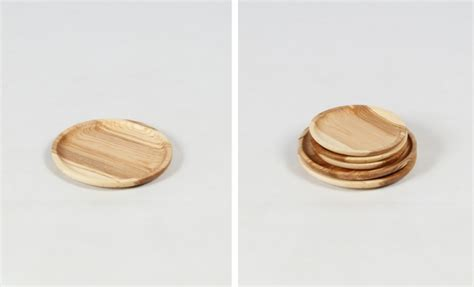 Wood Plate Wp 022 3 10 easy pieces outdoor dining plates remodelista